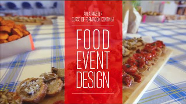 Postgrado en Food Event Design | IED Barcelona